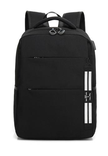 Twenty Eight Shoes black Travel Laptop Bags 8803 D20B9ACD734472GS_1