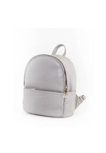 KONSTANZ JC grey KONSTANZ JC - The J Collection: Lambskin Backpack_Grey AC2E9AC3363C03GS_1