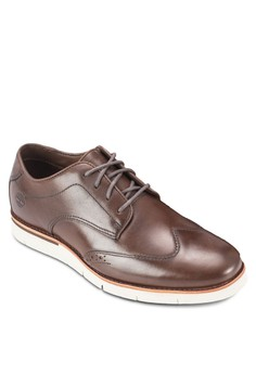 Timberland Mens Preston Hills 雕花牛津鞋