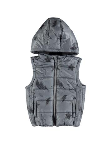 LC Waikiki grey Print Vest Jacket E273CKA2AA4A4AGS_1