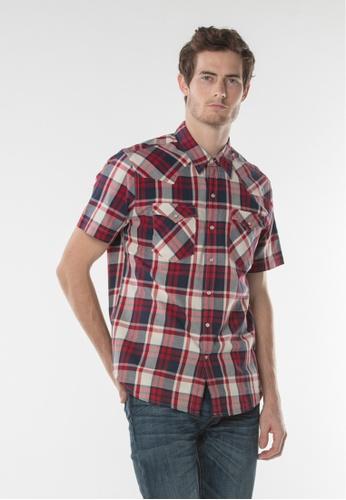 Levi's multi Short Sleeve Classic Western Shirt E9EBBAAF1D0DD9GS_1
