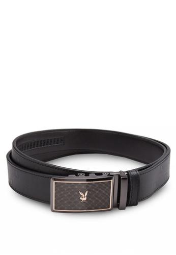 Playboy black Playboy Belt PL371AC56ZSTMY_1