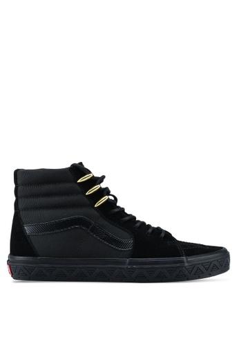 VANS black SK8-Hi Marvel Sneakers 29DF8SH94F4C17GS_1