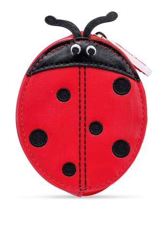Cath Kidston red Solid Novelty Ladybird Purse CAB68KC5BF0BF6GS_1