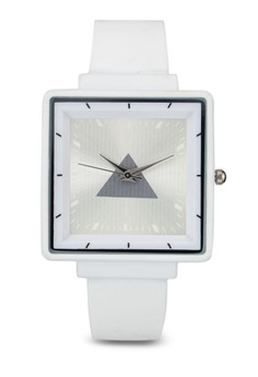 Square Silicon Watch