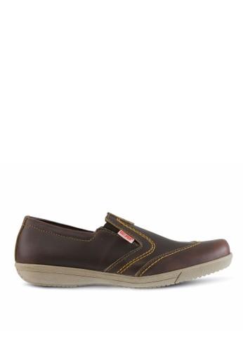 Sogno brown Sepatu Slip On Pria GF.2003 6A02DSHEB9917FGS 1 73584ce47a