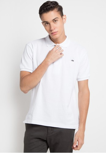 Jimmy Martin white J&M Polo Shirt 5EA2EAA7C88C1BGS_1