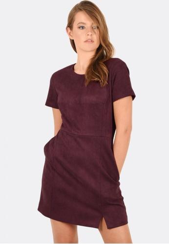 FORCAST purple Mia A-Line Dress 7F6E4AA65C390AGS_1