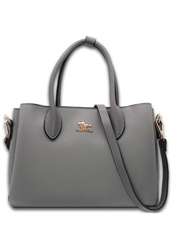 POLO HILL grey POLO HILL Avis Top Handle Handbag 6CBD0ACC423971GS_1