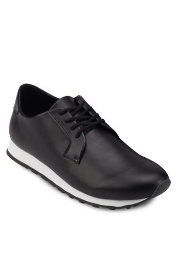 仿皮繫帶跑步運動鞋, 鞋zalora 順豐, 運動鞋