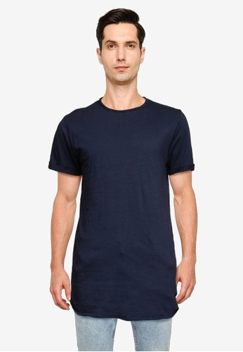 Indicode Jeans navy Alain T-Shirt B36A6AA4481266GS_1