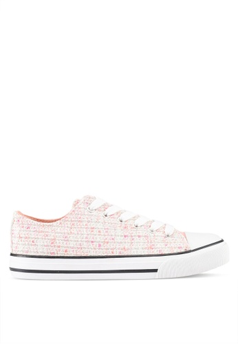 Rubi pink Jodi Low Rise Sneakers DD828SH0838B63GS_1