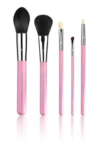 Sigma Beauty pink Exclusive Zalora X Sigma Day To Night Pink Brush Set 60BA0BE8D4B7F6GS_1
