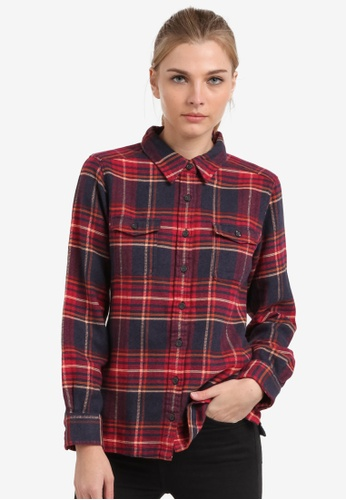 ed614576 Buy Patagonia Long Sleeve Fjord Flannel Shirt Online on ZALORA Singapore
