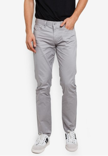 Armani Exchange grey Solid Colour Pants 76C6BAAD6DFCA2GS_1