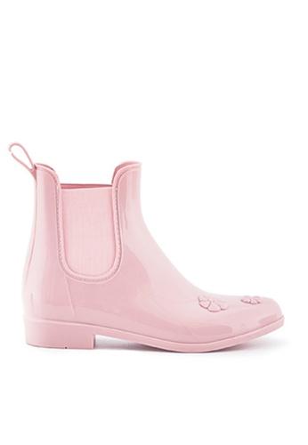 Twenty Eight Shoes pink Sweety Rain Boots MM8212 50982SHE241838GS_1