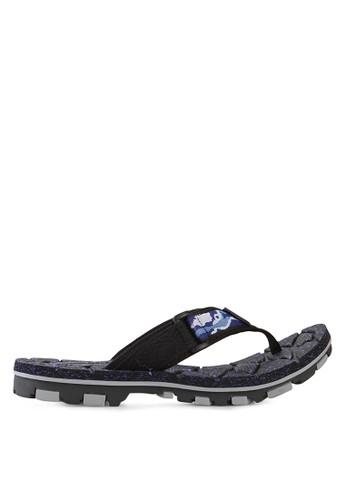 Homyped blue Fox 01 Men Sport Flip Flops HO842SH10HYBID_1