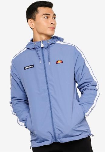 Ellesse blue Ovus Track Jacket C52F0AA0F32CC8GS_1