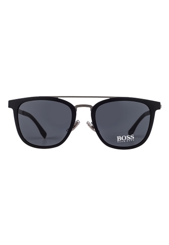 Hugo Boss black HUGO BOSS Square Black Sunglasses 0861FS HU898AC49OVUMY_1