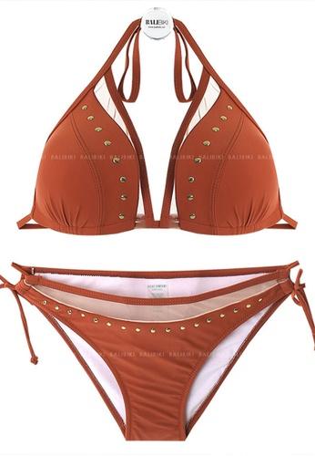 Halo brown Sexy Swimsuit Bikini 8A5F5USE3C3F8DGS_1