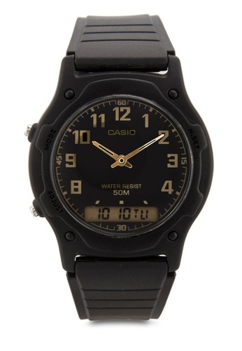 AW-49H-1BVDF 數碼行esprit服飾針手錶, 錶類, 飾品配件
