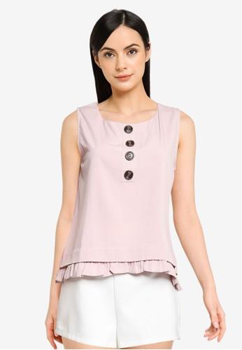 Megane pink Best Frenz Nuna Top D7165AAFEB74B3GS_1