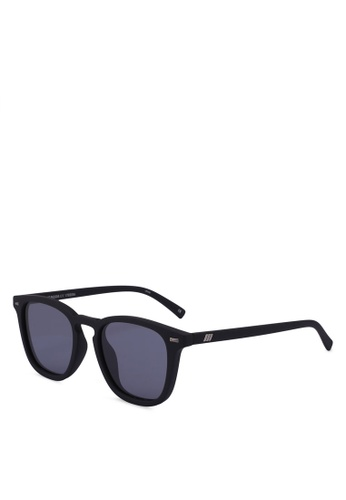 Le Specs black No Biggie 1702056 Sunglasses E50B1GLA1DCBD6GS_1