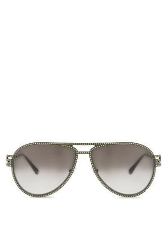 Versace green Rock Icons Greca VE2171B Sunglasses VE417GL23EZGMY_1