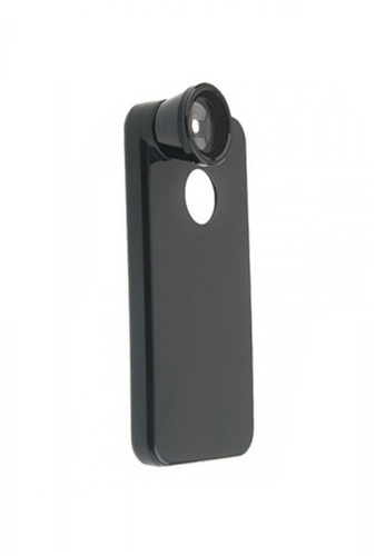 Latest Gadget black Iphone 4 Case with Fish Eye Lense LA734AC75HGAPH_1