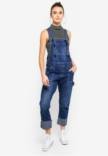 Cotton On blue The Slim Overall B7746AAE6E0F2DGS_1
