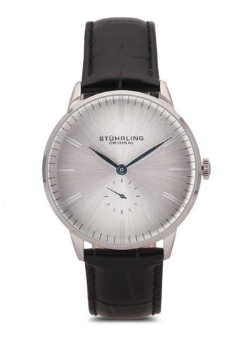 Stuhrling Original black Men's Quartz Watch ST251AC0S051MY_1