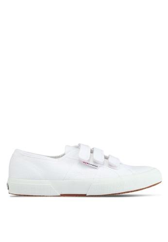 Superga white Cot3Strapu Sneakers ACDA4SHFE2C0E2GS_1