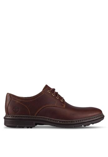Timberland brown Naples Trail Oxford Shoes TI063SH0RX4TMY_1