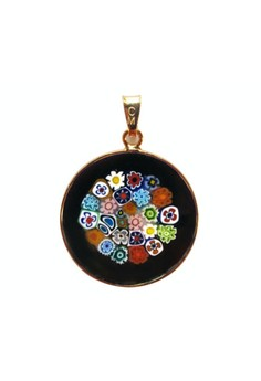 Millefiori Glass Pendant - My Lady 23mm