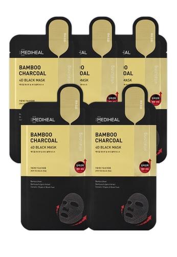 Mediheal black Mediheal Bamboo Charcoal 4D Black Mask (x5 sheets) 8D9ACBE5996629GS_1