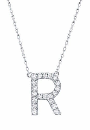 Smiling Rocks white 10K White Gold 0.27ct Lab Grown Diamond Mytype Necklace 7C257AC7ECFE30GS_1