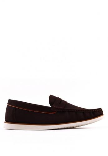 7soles brown Joshua MS Smart Casual Shoes 7S266SH0JRADPH_1