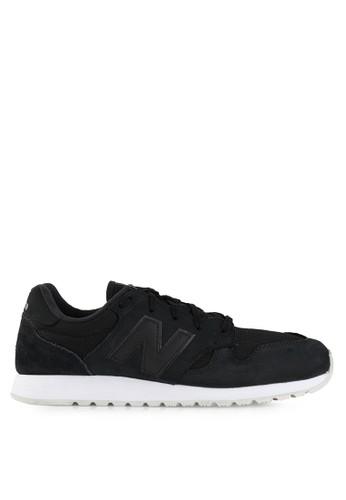 New Balance black Lifestyle 520 NE382SH0V7U0ID_1