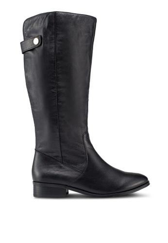 ALDO 黑色 繞帶高跟長靴 8D7C1SH43E59C9GS_1