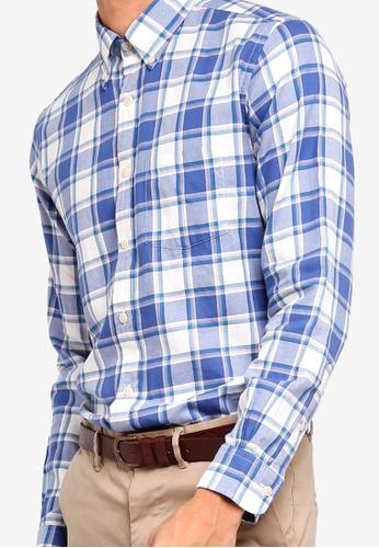 9ee7fb2d39f Buy Brooks Brothers Red Fleece Summer Twill Sport Shirt Online ...