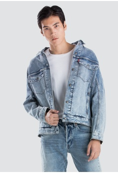 af2a08f19c94 Levi s blue Levi s Engineered Jeans Trucker Jacket Men 67778-0000  5580FAAAC974ACGS 1