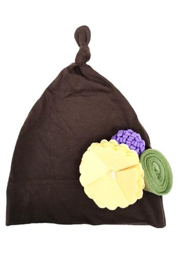 Lowela brown Beanie Hat B1F9FKCEADB002GS_1
