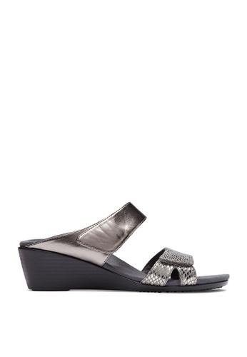 b037e7c36 Shop Vionic Park Chrissy Wedge Sandals Online on ZALORA Philippines