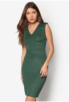 Collection V Neck Pencil Dress