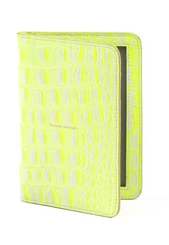 RABEANCO yellow Passport Holder RA424AC42IJTHK_1