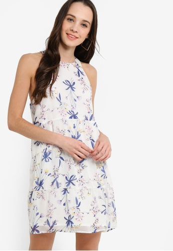 Something Borrowed 白色 無袖層次洋裝 D1017AA4EDC05CGS_1