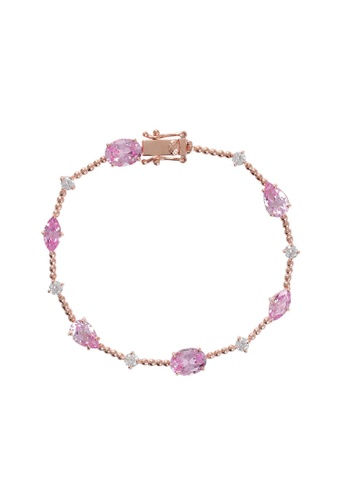 Arte Madrid pink and gold Arte Madrid Tropical Dream Pink Romance Bracelets 9E860ACBBF809EGS_1