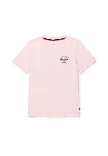 Herschel pink Herschel Women's Tee - Merrit Rosewater D1053AA63A12A4GS_1