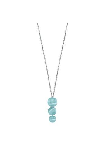 Morellato blue Morellato Gemma Stering Silver 925 Crystal Cat Eye Ladies Necklace SAKK73 FA870AC4E85F82GS_1