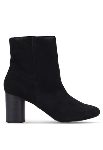 TOPSHOP black Madison Round Toe Ankle Boots TO412SH0S309MY_1